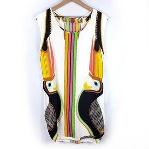 Anthro Farm Rio Sleeveless Mini Dress